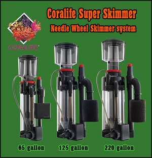 Coralife Needle Wheel Protein Skimmer