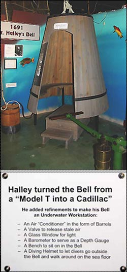 Halley's Diving Bell