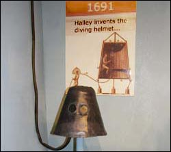 Halley's Diving Helmet