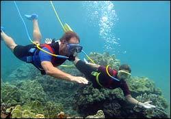 Modern Snuba Diving