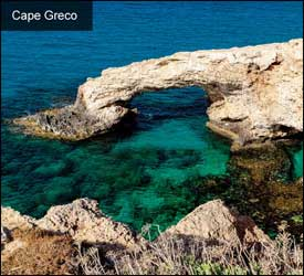 Cape Greco – Eastern Cyprus