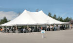 Picture of the Auction Tent